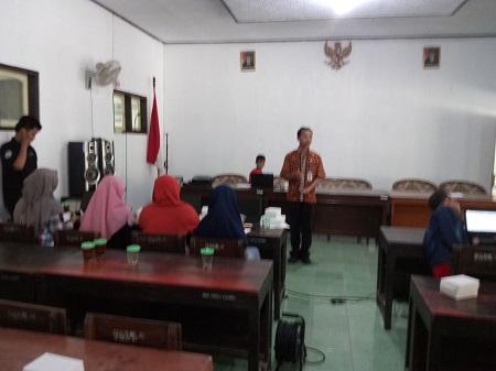 Kominfo Kebumen Selenggarakan Pelatihan Komputer Dasar Desa Candi Kec. Karanganyar