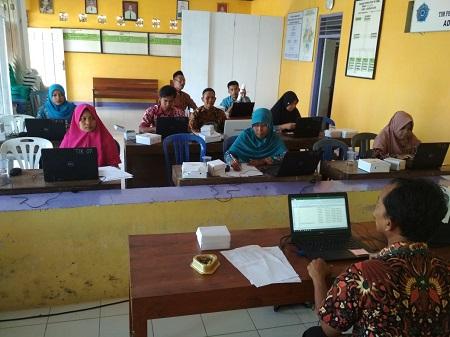 Kominfo Selenggarakan Agenda Kegiatan Pelatihan TIK Dasar di Desa Adiluhur Kecamatan Adimulyo, Kebumen