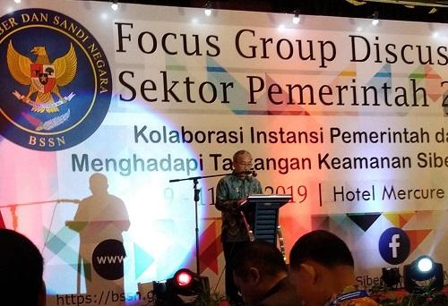 Kominfo Kebumen Hadiri FGD Keamanan Siber yang diselenggarakan BSSN