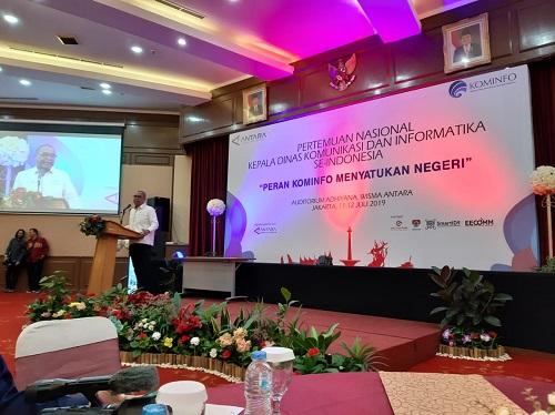 LKBN ANTARA bekerjasama dengan Kementrian Kominfo Menyelenggarakan Pertemuan Nasional Kepala Dinas Komunikasi dan Informatika Seluruh Indonesia