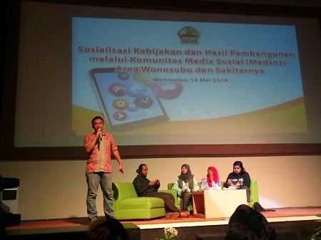 Medsos Dapat Menggerakkan Partisipasi Aktif Masyarakat Dalam Pembangunan