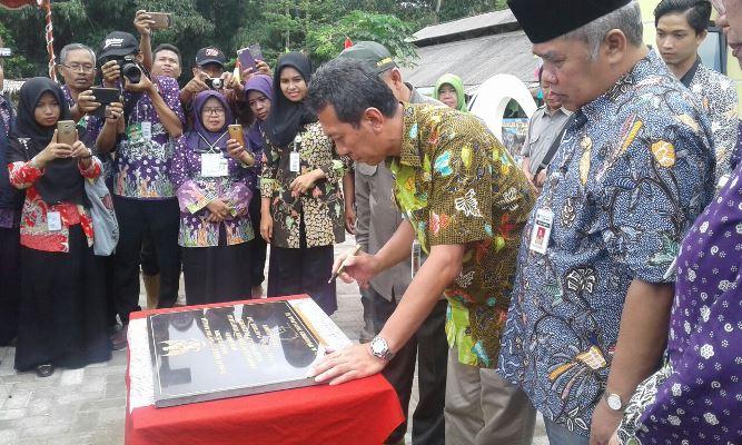 Bupati Yahya Fuad Launching Eduwisata Peternakan Terintegrasi di Desa Sitiadi, Puring